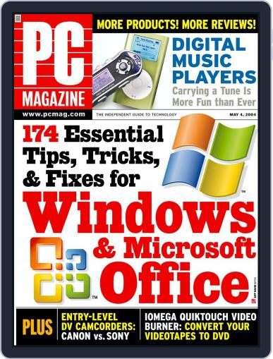 Pc (Digital) April 9th, 2004 Issue Cover
