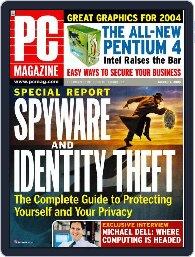 Pc (Digital) February 9th, 2004 Issue Cover