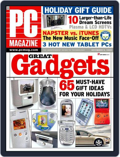 Pc November 15th, 2003 Digital Back Issue Cover