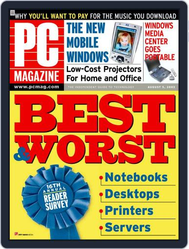 Pc (Digital) July 14th, 2003 Issue Cover