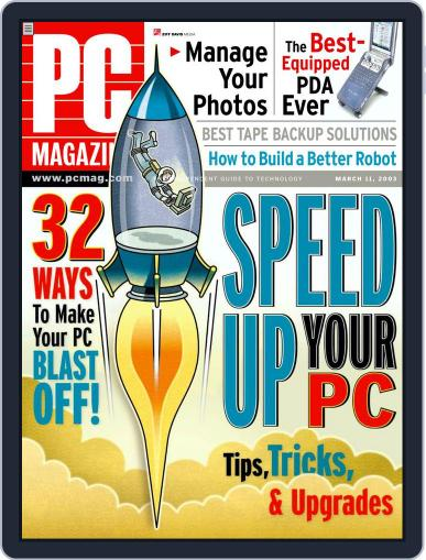 Pc (Digital) February 14th, 2003 Issue Cover