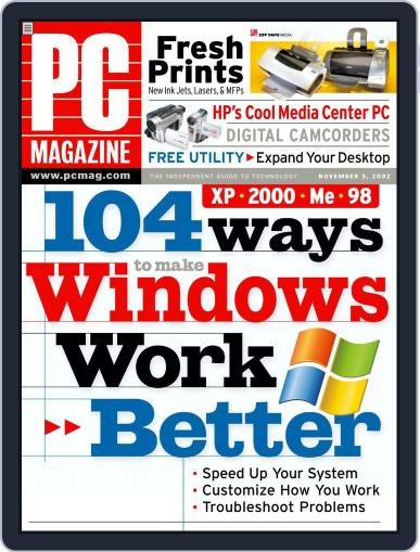 Pc October 4th, 2002 Digital Back Issue Cover
