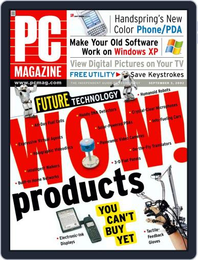 Pc (Digital) July 31st, 2002 Issue Cover
