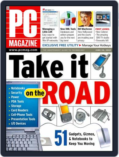 Pc (Digital) May 30th, 2002 Issue Cover