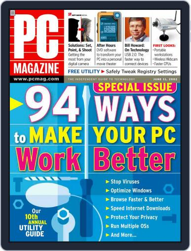 Pc (Digital) May 9th, 2002 Issue Cover
