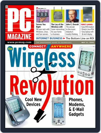 Pc (Digital) April 29th, 2002 Issue Cover