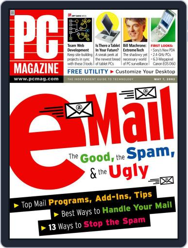 Pc (Digital) April 23rd, 2002 Issue Cover
