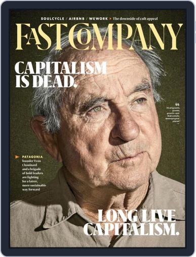 Fast Company (Digital) November 1st, 2019 Issue Cover