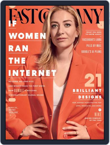 Fast Company (Digital) October 1st, 2019 Issue Cover
