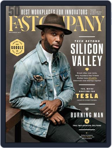 Fast Company (Digital) September 1st, 2019 Issue Cover
