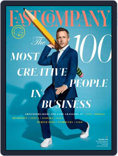 Fast Company May 10th, 2019 Digital Back Issue Cover
