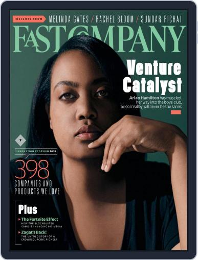 Fast Company (Digital) October 1st, 2018 Issue Cover