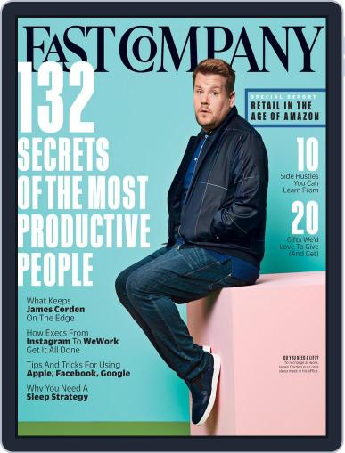 Fast Company (Digital) December 1st, 2017 Issue Cover