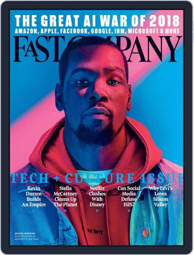 Fast Company November 1st, 2017 Digital Back Issue Cover