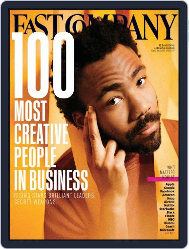 Fast Company (Digital) June 1st, 2017 Issue Cover