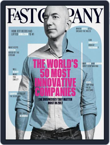 Fast Company (Digital) March 1st, 2017 Issue Cover