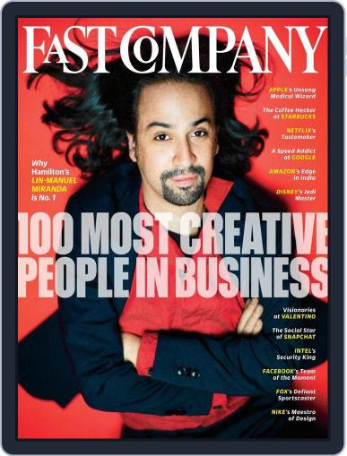 Fast Company May 16th, 2016 Digital Back Issue Cover