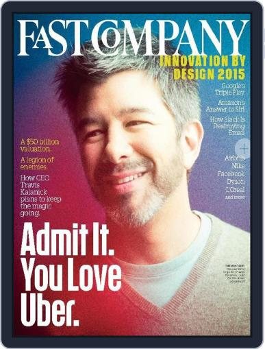 Fast Company (Digital) September 14th, 2015 Issue Cover