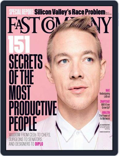 Fast Company November 25th, 2014 Digital Back Issue Cover