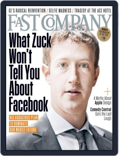 Fast Company (Digital) June 24th, 2014 Issue Cover