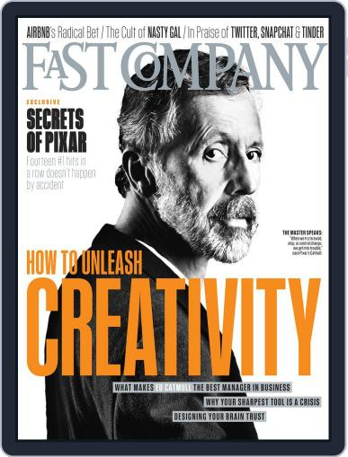 Fast Company (Digital) March 25th, 2014 Issue Cover