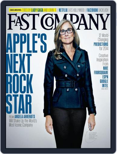 Fast Company January 14th, 2014 Digital Back Issue Cover