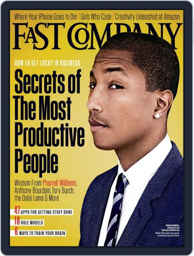 Fast Company November 22nd, 2013 Digital Back Issue Cover