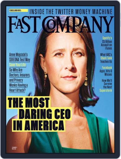 Fast Company (Digital) October 18th, 2013 Issue Cover