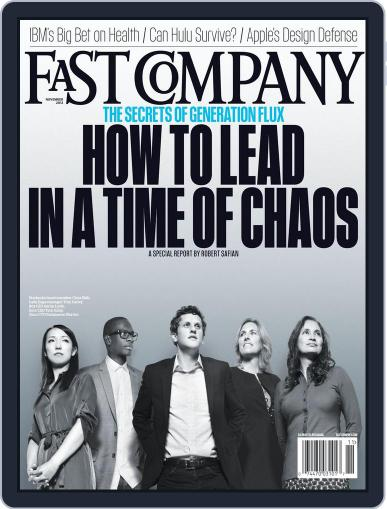Fast Company (Digital) October 19th, 2012 Issue Cover