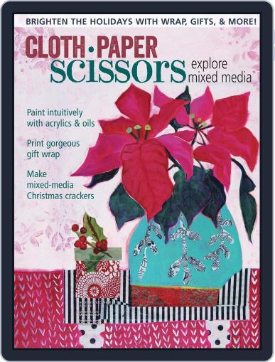Cloth Paper Scissors November 1st, 2016 Digital Back Issue Cover