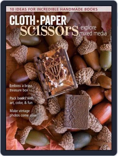Cloth Paper Scissors September 1st, 2016 Digital Back Issue Cover