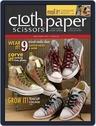 Cloth Paper Scissors (Digital) April 16th, 2012 Issue Cover