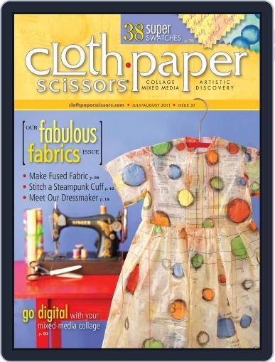 Cloth Paper Scissors (Digital) June 24th, 2011 Issue Cover
