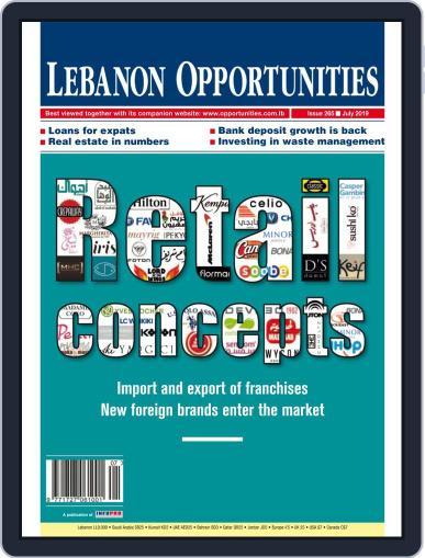 Lebanon Opportunities July 1st, 2019 Digital Back Issue Cover