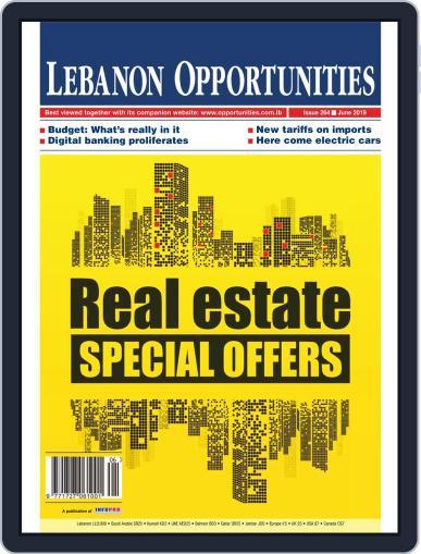 Lebanon Opportunities June 1st, 2019 Digital Back Issue Cover