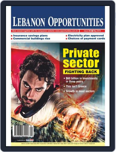 Lebanon Opportunities May 1st, 2019 Digital Back Issue Cover