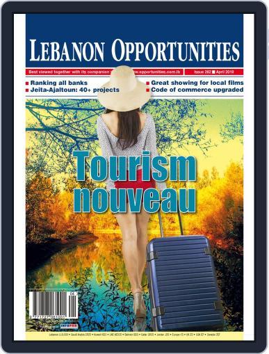 Lebanon Opportunities April 1st, 2019 Digital Back Issue Cover