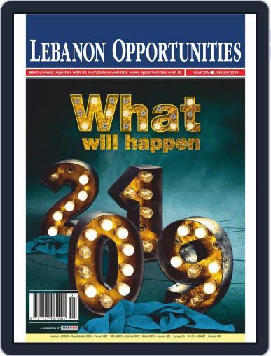 Lebanon Opportunities (Digital) January 1st, 2019 Issue Cover