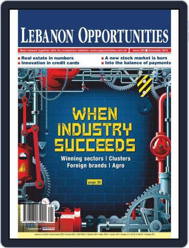 Lebanon Opportunities December 1st, 2018 Digital Back Issue Cover