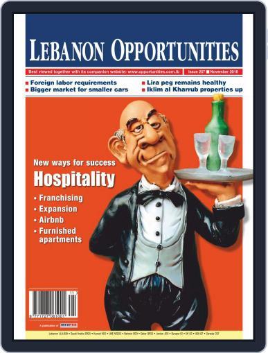 Lebanon Opportunities (Digital) November 1st, 2018 Issue Cover