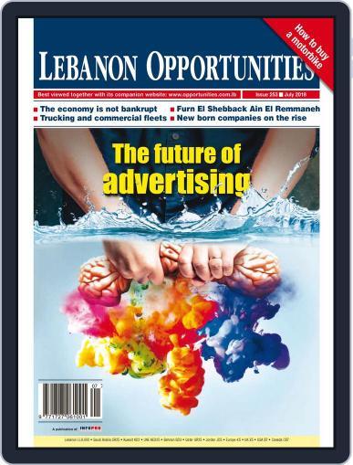 Lebanon Opportunities July 1st, 2018 Digital Back Issue Cover