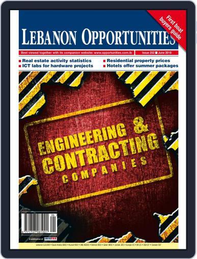Lebanon Opportunities June 1st, 2018 Digital Back Issue Cover