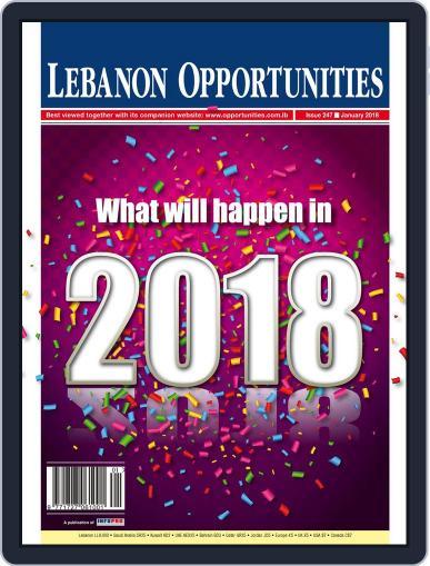 Lebanon Opportunities (Digital) January 1st, 2018 Issue Cover