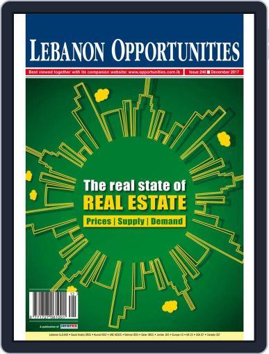 Lebanon Opportunities December 1st, 2017 Digital Back Issue Cover