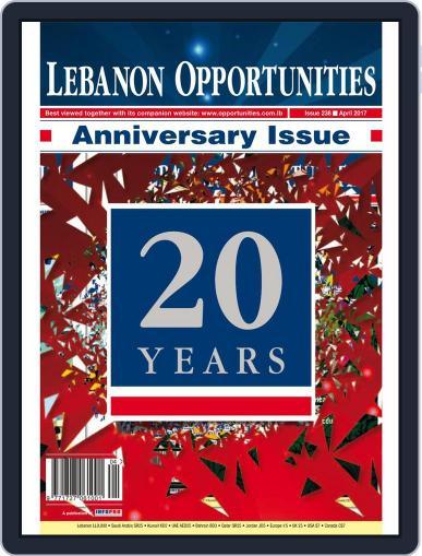 Lebanon Opportunities April 1st, 2017 Digital Back Issue Cover