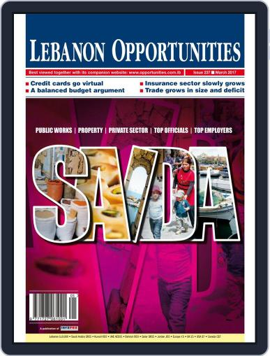 Lebanon Opportunities (Digital) March 1st, 2017 Issue Cover