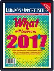 Lebanon Opportunities (Digital) Subscription January 1st, 2017 Issue