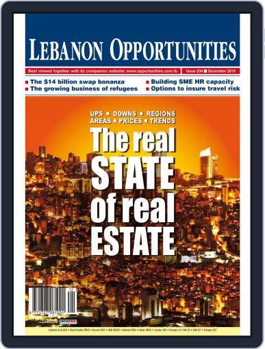 Lebanon Opportunities (Digital) December 1st, 2016 Issue Cover