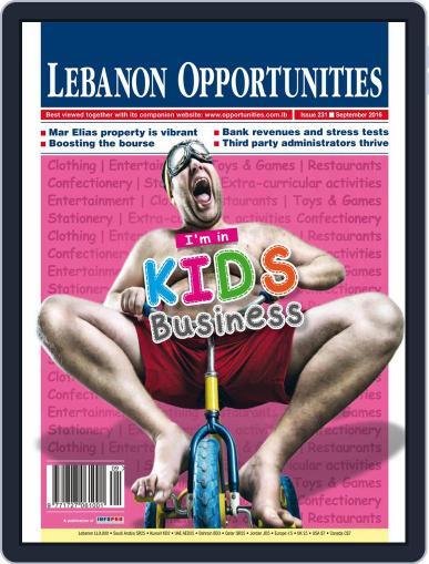 Lebanon Opportunities (Digital) September 8th, 2016 Issue Cover