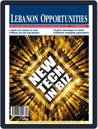 Lebanon Opportunities April 1st, 2016 Digital Back Issue Cover